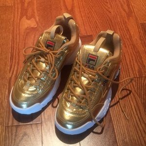 Fila collector's shoes worn once special occasion